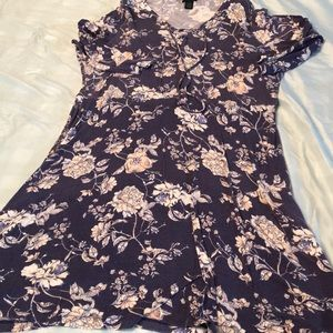 Rue21 Navy Floral Dress